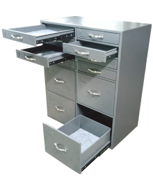 Multiple cabinet record safe